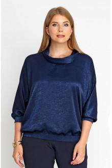 "Блуза ""Лина"" 4160 (Синий темный)"