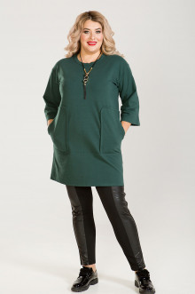 Платье-Туника 634 Luxury Plus (Зеленый)