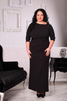Платье 043201 ЛаТэ (Черный)
